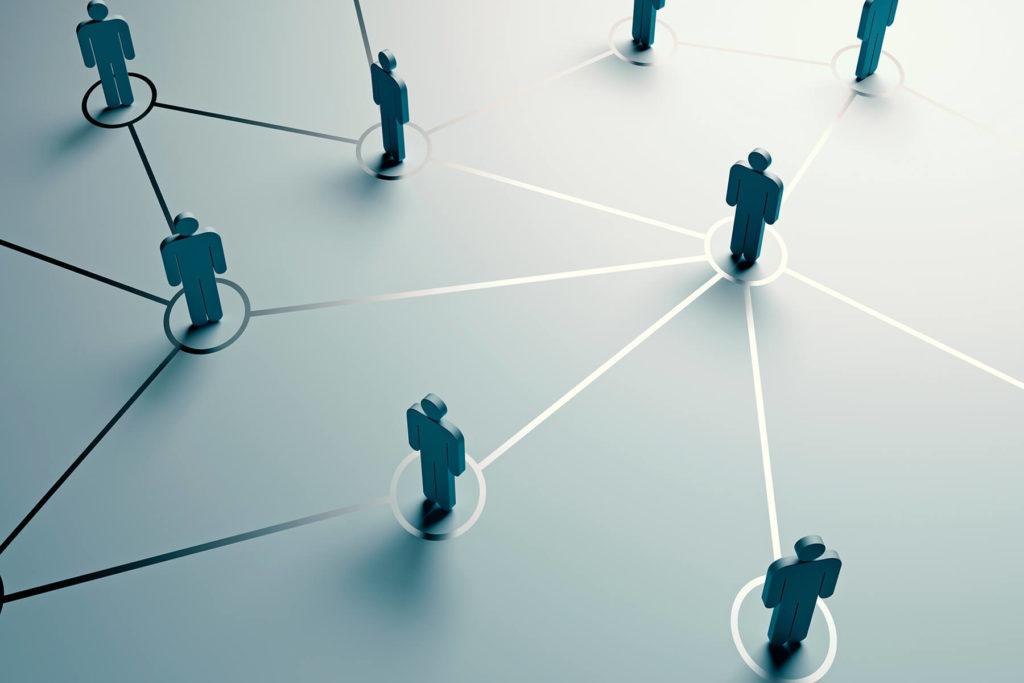 Netzwerk aus Führungskräften
